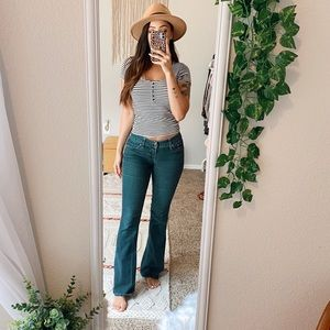 🌈 3/$20 Express Low Rise Boot Cut Jeans